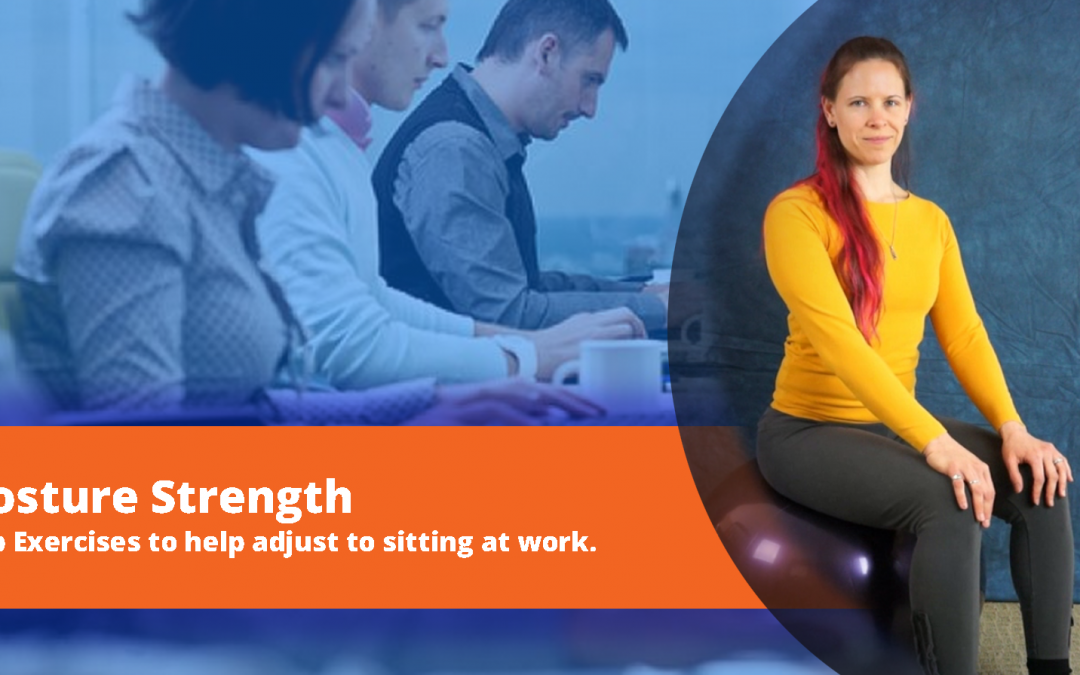 Exercise at Your Desk: Hip exercises that strengthen your lower back and improve posture.