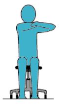 Middle Upper Back Stretch