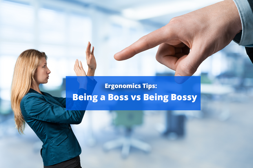 Being a Boss vs Being Bossy