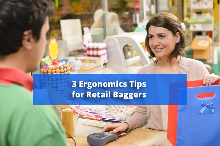 3 Ergonomics Tips for Retail Baggers