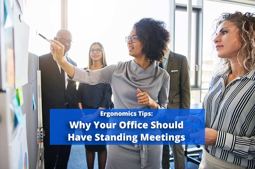 Why Your Office Should Have Standing Meetings