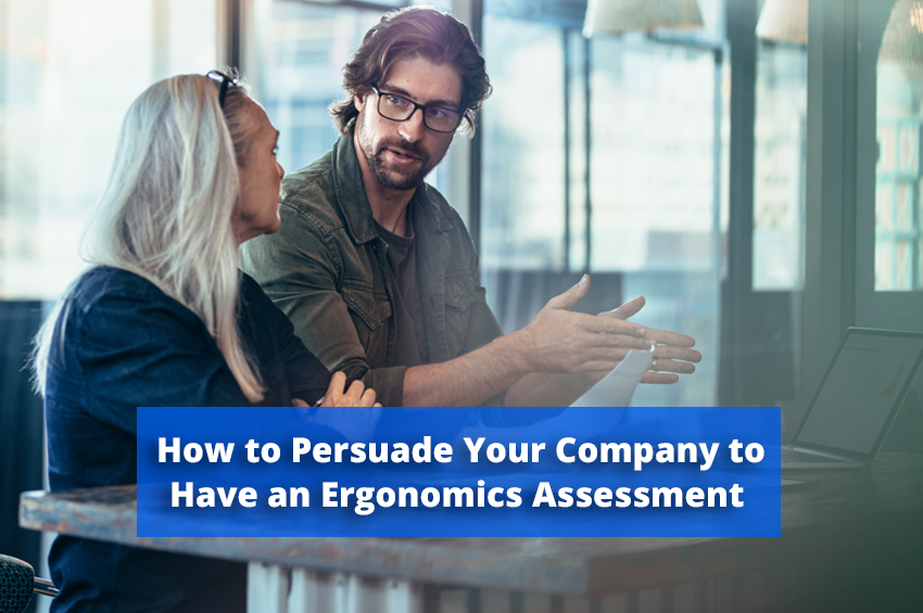 5 Ways to Persuade Your Boss to Have an Ergonomics Workstation Assessment