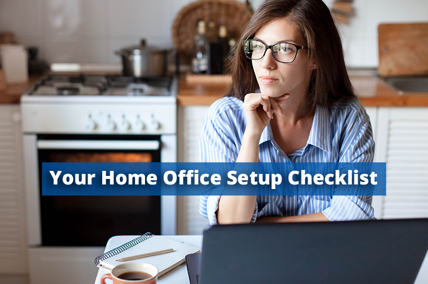 Your Home Office Setup Checklist