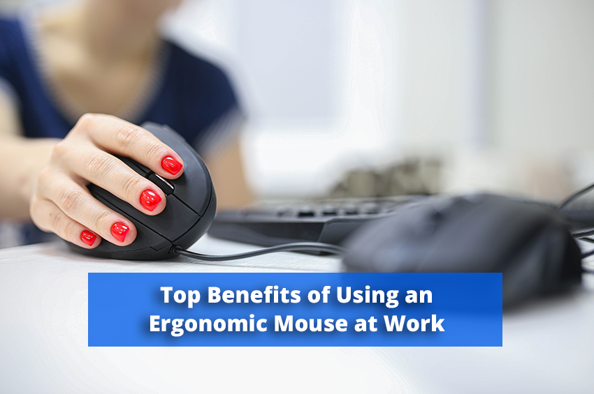 The Top Benefits of Using an Ergonomic Mouse at Work