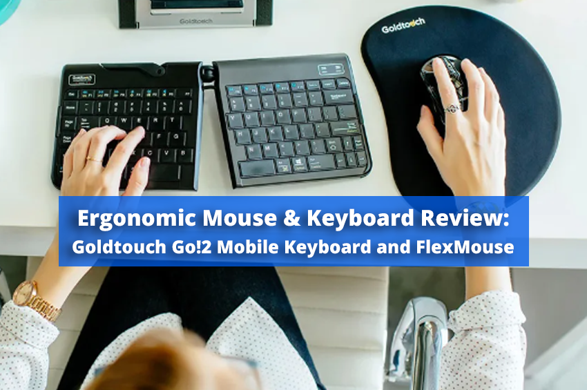 Ergonomic Mouse and Keyboard Review: Goldtouch Go!2 Mobile Keyboard and FlexMouse