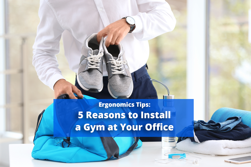 5 Reasons to Install a Gym at Your Office